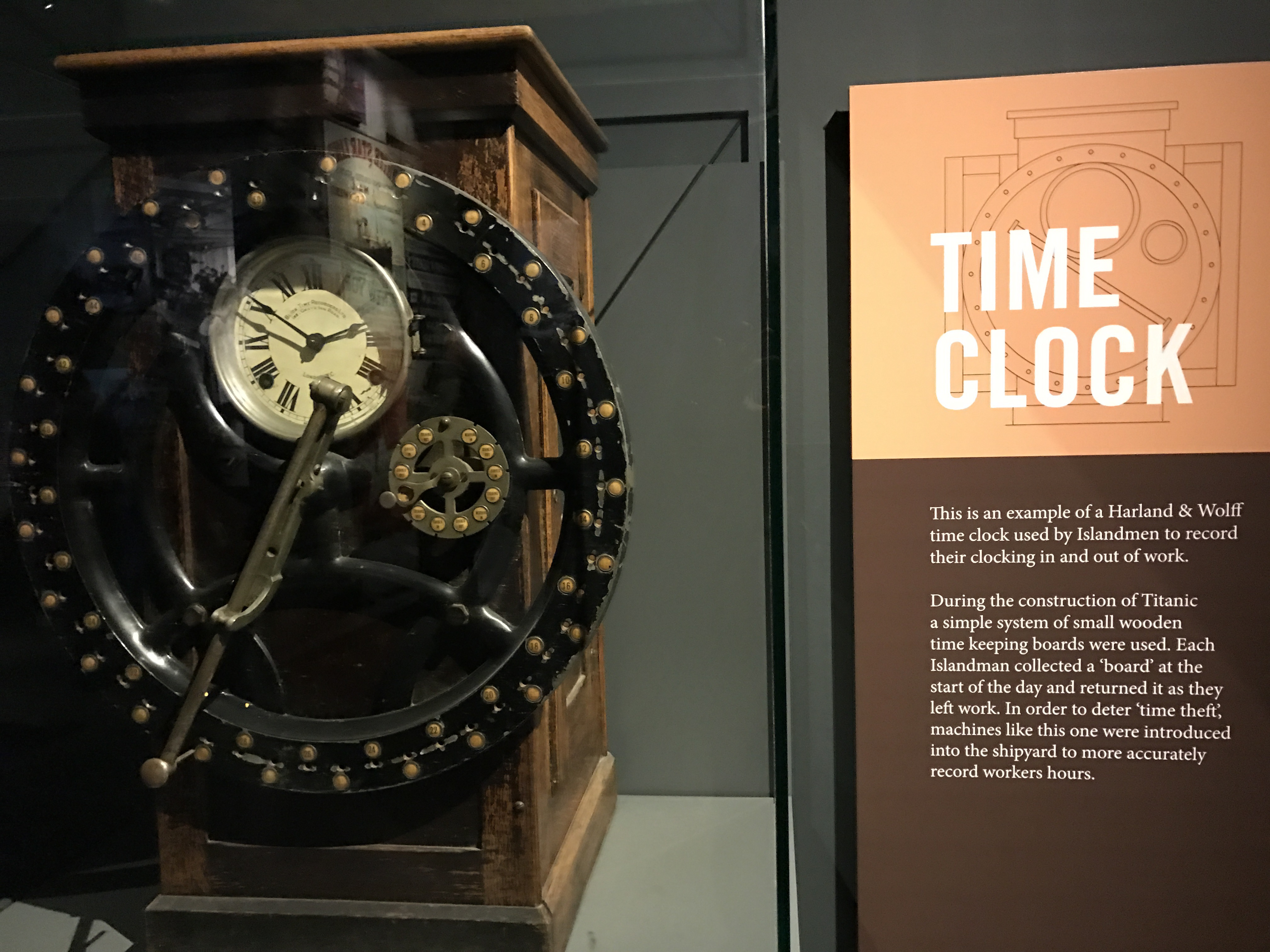 Titanic Time Clock