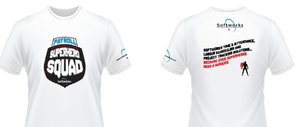 Free Payroll Super Hero T-ShirtT-Shirt